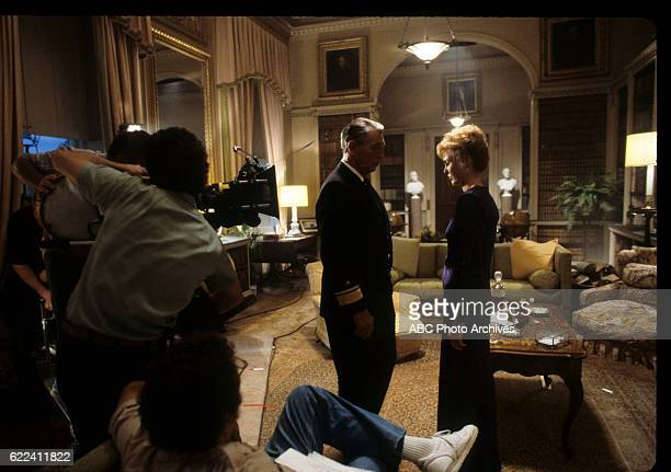 Miniseries BehindtheScenes Technical Coverage Airdate November 13 15 through 17 20 and 23 1988 / May 7 through 10 and 14 1989 PRODUCTION SHOT OF DAN...