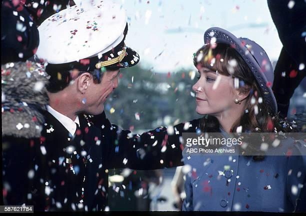 """Miniseries - """"Cataclysm"""" - Airdate: February 8, 1983. BEN MURPHY;LISA EILBACHER"""