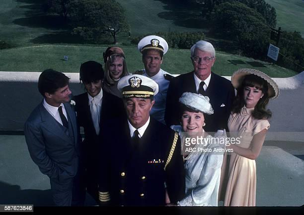 Miniseries Cataclysm Airdate February 8 1983 ROBERT MITCHUMPOLLY BERGEN BACKGROUND JAN