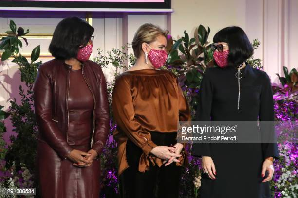 Minister Delegate to the Prime Minister, in charge of Equality between women and men, Elisabeth Moreno, Honorary President Grand Duchess Maria Teresa...