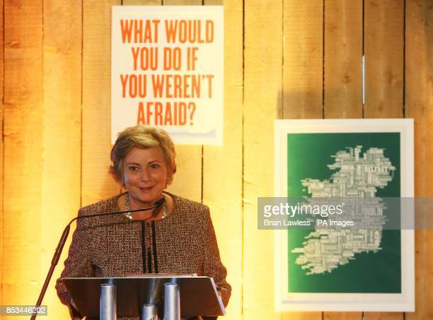 Minister for Children and Youth Affairs Frances Fitzgerald at an event at Facebook offices in Dublin where the Diana Awards are being presented