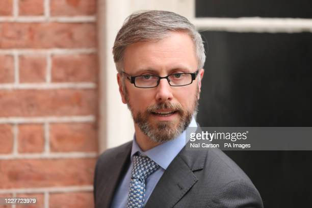 Minister for Children, Disability, Equality and Integration Roderic O'Gorman arrives at Dublin Castle for a cabinet meeting.
