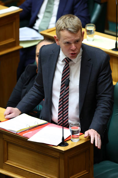 NZL: First Sitting Day Of 53rd New Zealand Parliament