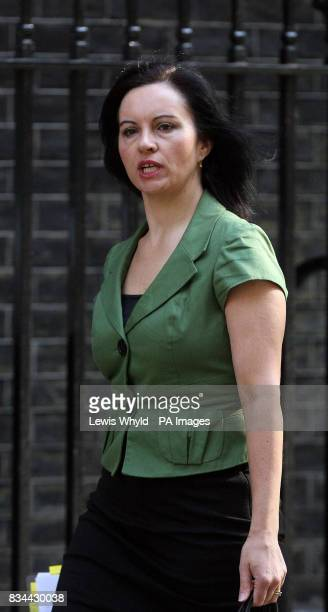 Minister for Housing Caroline Flint arrives for a Cabinet Meeting at 10 Downing Street in London