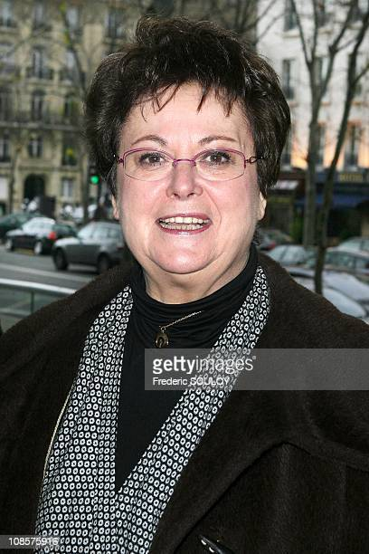 Minister for Housing Christine Boutin in Paris on December 21 2008