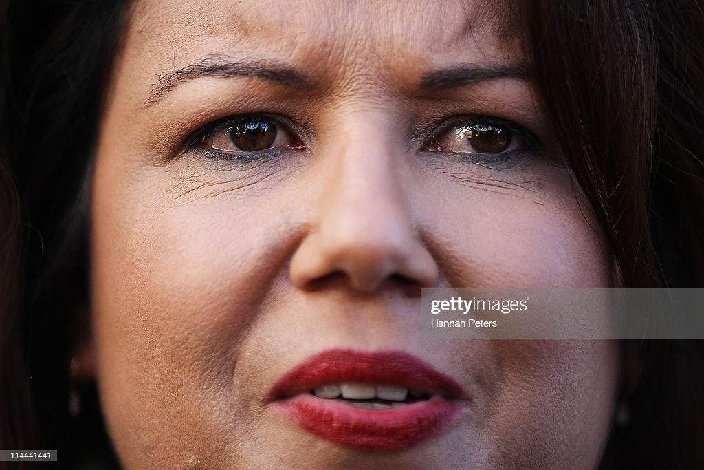 Paula Bennett Makes Post Budget Announcement : News Photo