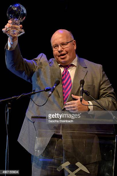 Minister for special tasks Peter Altmaier attends the 'Steiger Award 2015' at colliery Hansemann on September 26 2015 in Dortmund Germany