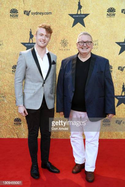Minister for the Public Service and Employee Relations Don Harwin attends the Australian premiere of Hamilton at Lyric Theatre, Star City on March...