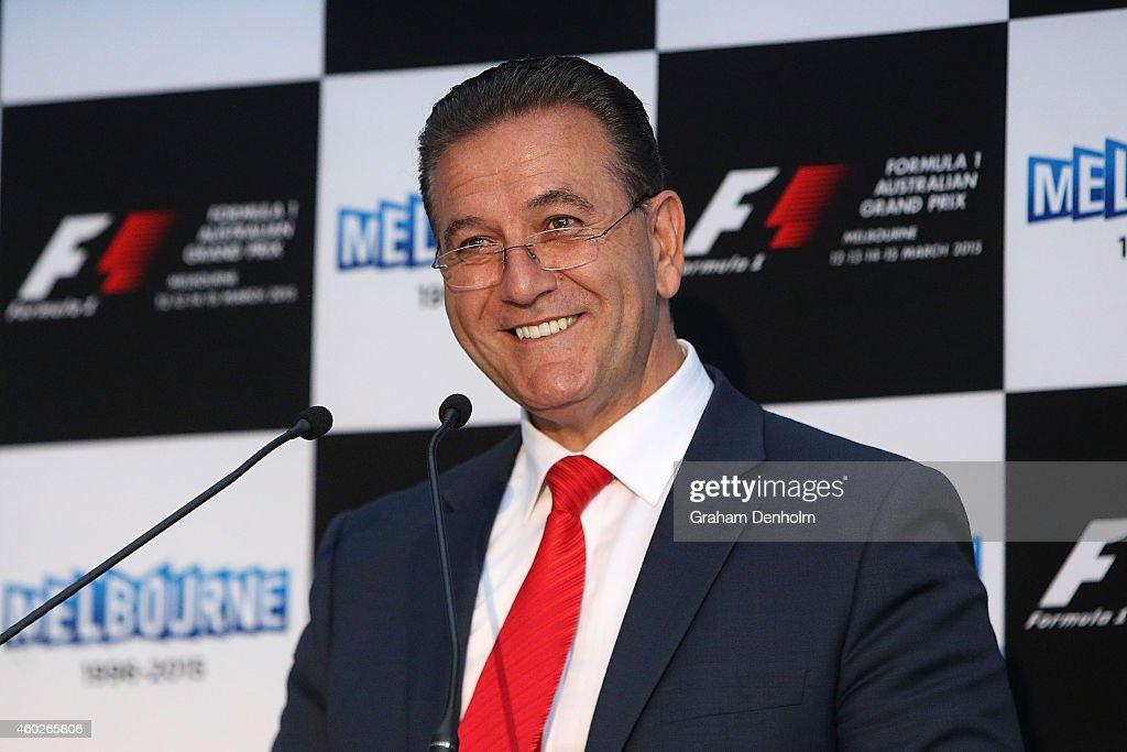 2015 Australian Formula 1 Grand Prix Launch