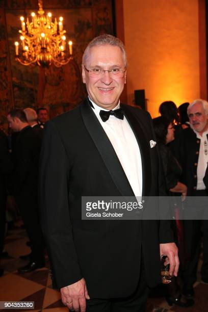 Minister Joachim Herrmann during the new year reception of the Bavarian state government at Residenz on January 12 2018 in Munich Germany