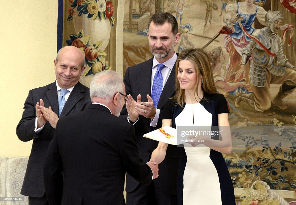 Spanish Royals Attend 'National Culture Awards' 2015 : News Photo