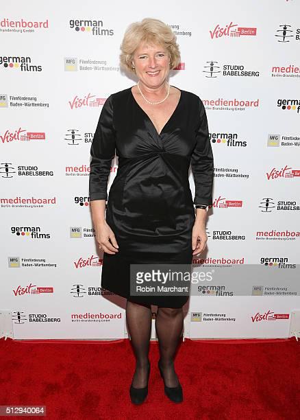 Minister Monika Grutters attends Studio Babelsberg Oscars Screening Reception on February 28 2016 in Los Angeles California