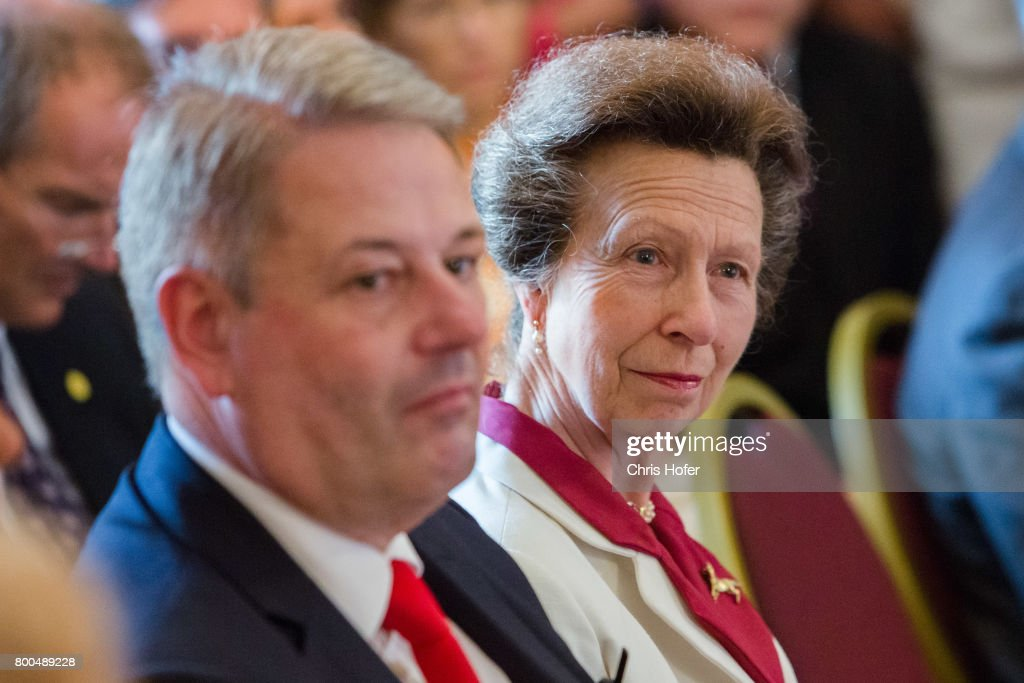 Minister of agriculture Andrae Rupprechter and HRH Princess