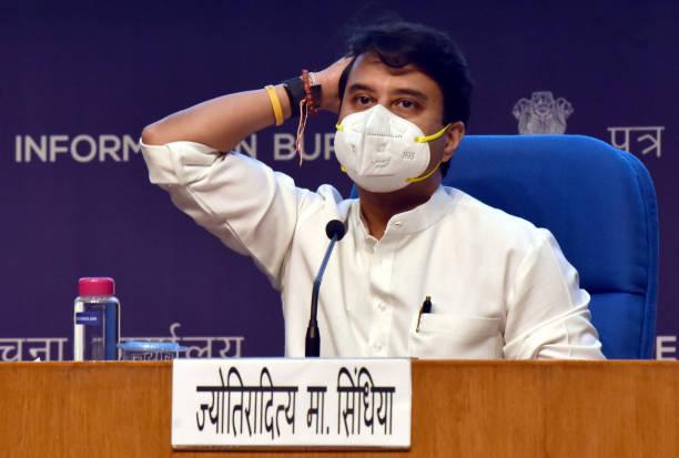 IND: Civil Aviation Minister Jyotiraditya M Scindia Announces PLI Scheme For Drones And Drone Components