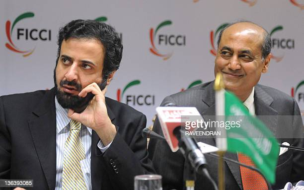 Minister of Commerce and Industry Kingdom of Saudi Arabia Tawfeeq Bin Fouzan Al Rabea and The Federation of Indian Chambers of Commerce and Industry...