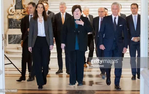 Minister of Cooperation Development Digital Agenda Postal services and Finance Alexander De Croo Belgian Prime Minister Sophie Wilmes Minister SMEs...