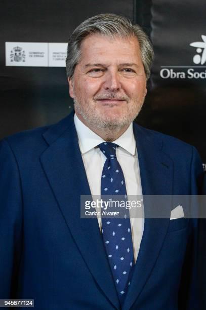 Minister of Culture Inigo Mendez de Vigo attends Opening Day Red Carpet Malaga Film Festival 2018 on April 13 2018 in Malaga Spain