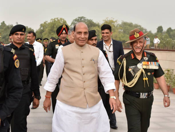 IND: Kargil War Anniversary: Defence Minister Rajnath Singh Lights Victory Flame From National War Memorial