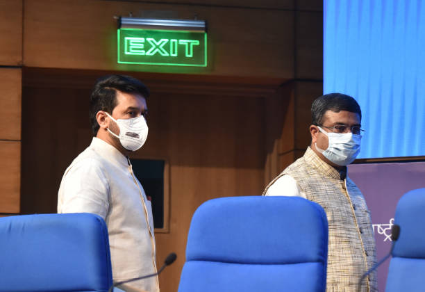 IND: Cabinet Briefing By Union Ministers Anurag Thakur And Dharmendra Pradhan