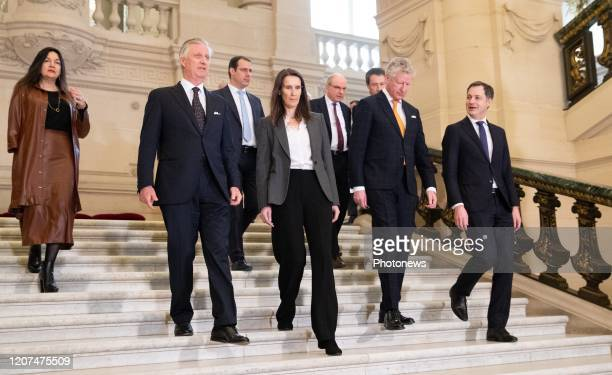 Minister of Energy Environment and Sustainable Development MarieChristine Marghem King Philippe Filip of Belgium VicePrime Minister and Minister of...