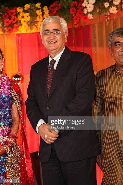 Minister of External Affairs Salman Khurshid at the Wedding ceremony of Lawyer Ashok Basoya and ex Delhi University Student Union president Ragini...