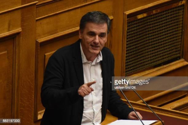 Minister of Finance Euclid Tsakalotos