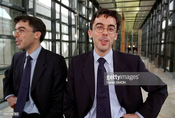 Minister of Finance's Personal Staff Chieff Bruno Cremel In Paris France On April 28 2000
