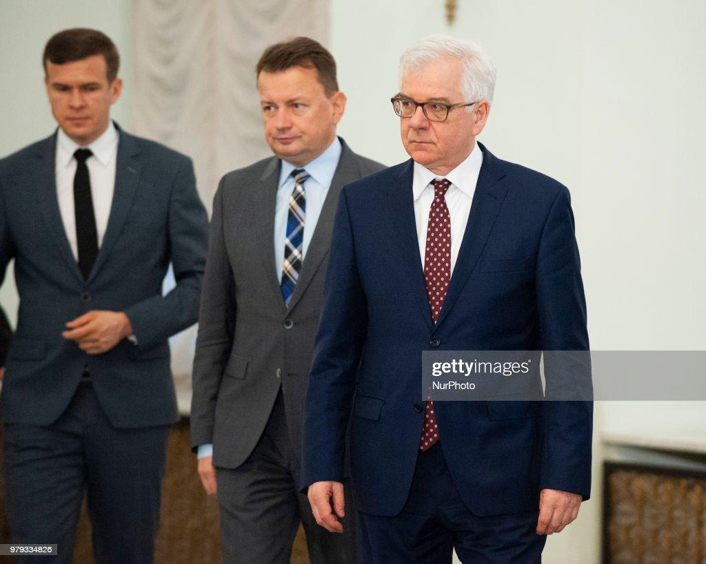 Jan Ardanowski, New Polish Minister Of Agriculture : News Photo