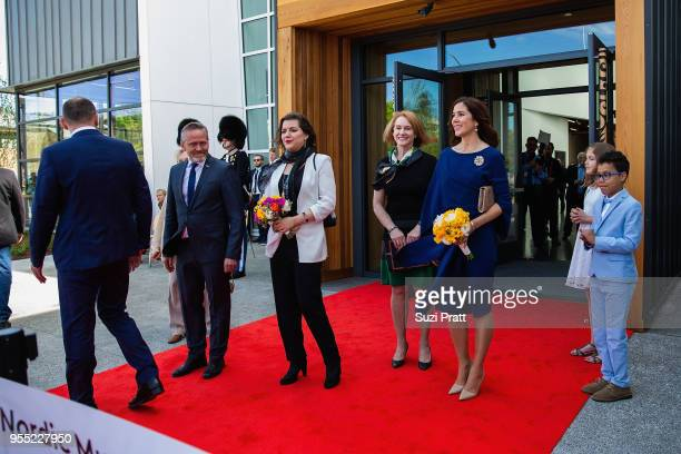 Minister of Foreign Affairs of Denmark Anders Samuelsen Iceland First Lady Eliza Reid Seattle mayor Jenny Durkan and Her Royal Highness the Crown...