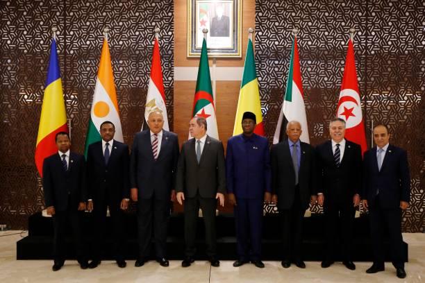 DZA: Diplomatic Meeting On Libya In Algeria