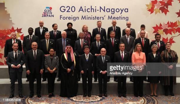 Minister of Foreign Affairs of Turkey, Mevlut Cavusoglu , German Foreign Minister, Heiko Maas , Japan's Foreign Minister Toshimitsu Motegi , European...