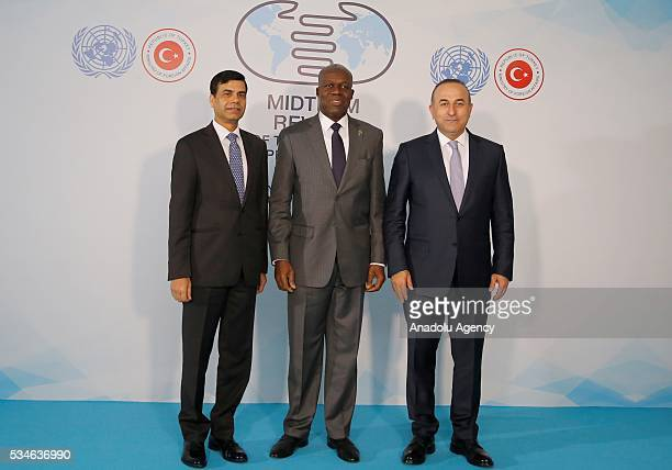 Minister of Foreign Affairs of Turkey Mevlut Cavusoglu Vice President of the Republic of Ghana Kwesi AmissahArthur and UnderSecretaryGeneral and High...
