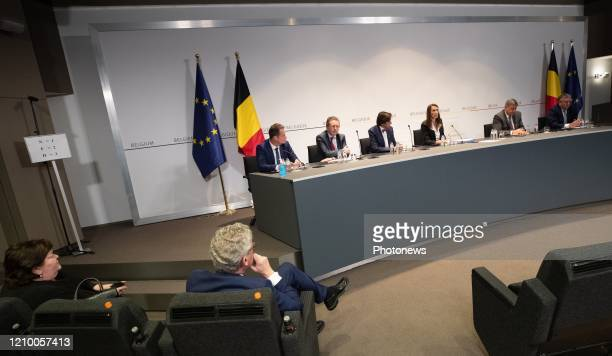 Minister of Health Social Affairs Asylum Policy and Migration Maggie De Block Minister of Interior Affairs and Foreign Trade Pieter De Crem German...