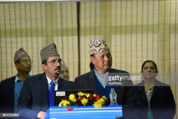 Minister of Information amp Communication Mohan Bahadur Basnet Inaugurates Nepal China Crossborder Optical Fiber Link between Nepal Telecom amp China...