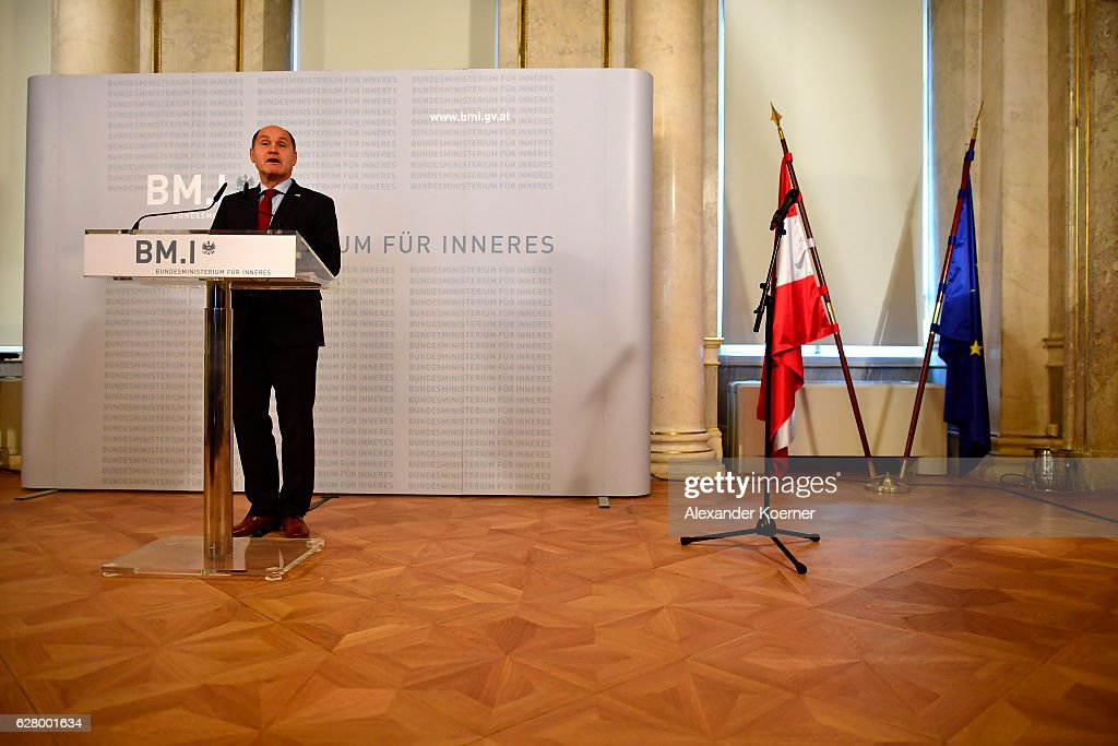 Austrian Authorities Confirm Election Result : News Photo