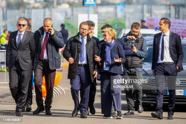 ROMA CIVITAVECCHIA LAZIO ITALY Minister of Justice of the Italian Republic Alfonso Bonafede during the demonstration to celebrate the memory of the...