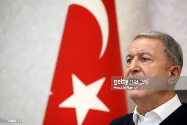 Minister of National Defence of Turkey, Hulusi Akar and the Turkish Armed Forces Command are managing and dispatching the Operation Claw-Tiger in...