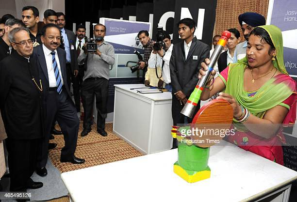 Minister of Science and technology and earth Science Dr Harsh Vardhan President of India Pranab Mukherjee Minister of State Science and technology...