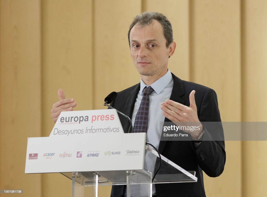 Europa Press Breakfast With Pedro Duque