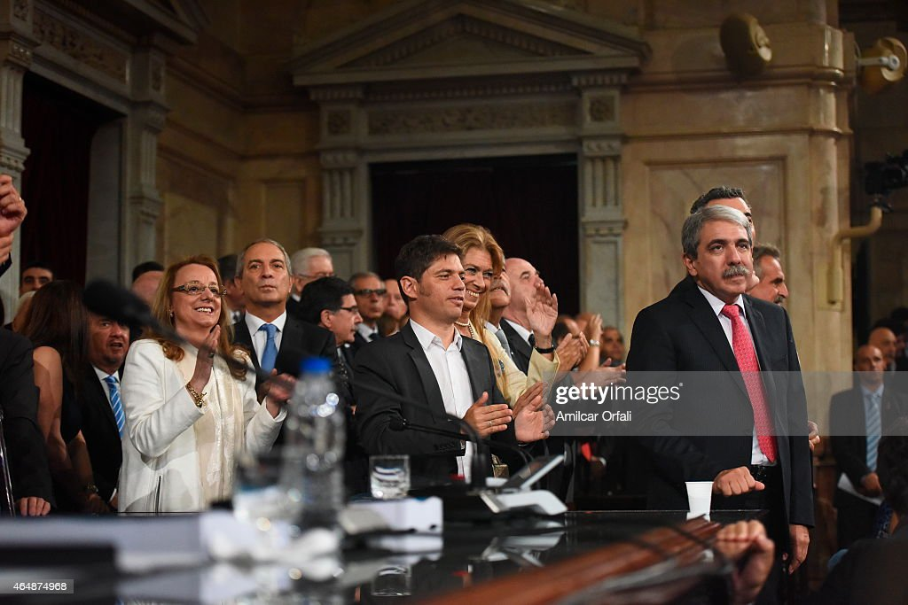 Inauguration of the 133rd Period of Congress Ordinary Sessions in Buenos Aires