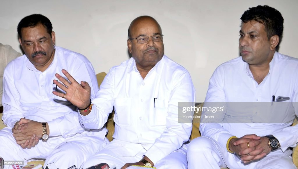 Minister of Social Justice and Empowerment Thawar Chand Gehlot BJP Punjab State Chief and Minister of State for Social Justice and Empowerment Vijay..