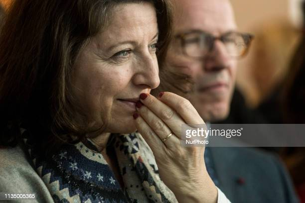 Minister of Solidarity and Health Agnes Buzyn visits Hospital Edouard Herriot in Lyon France on April 5 2019
