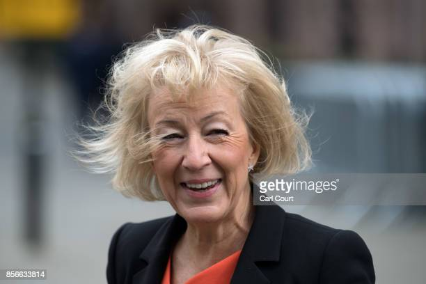 Minister of State at the Department of Energy and Climate Change Andrea Leadsom attends day two of the Conservative Party Conference at Manchester...
