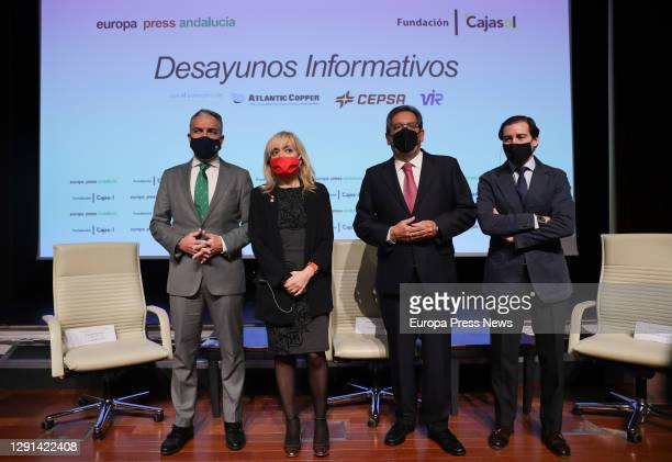 Minister of the Presidency, Public Administration and the Interior and Spokesperson of the Andalusian Government, Elías Bendodo. The president of the...