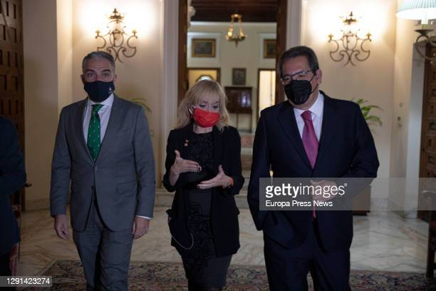 Minister of the Presidency, Public Administration and the Interior and Spokesperson of the Andalusian Government, Elías Bendodo, the general...