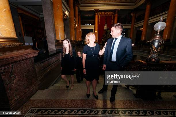Minister of Transport and Communications Sanna Marin Minister of Justice AnnaMaja Henriksson and Minister for Nordic Cooperation and Equality Thomas...