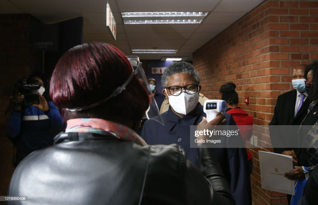 Minister Of Transport Fikile Mbalula Visits The Sandton Licensing News Photo Getty Images