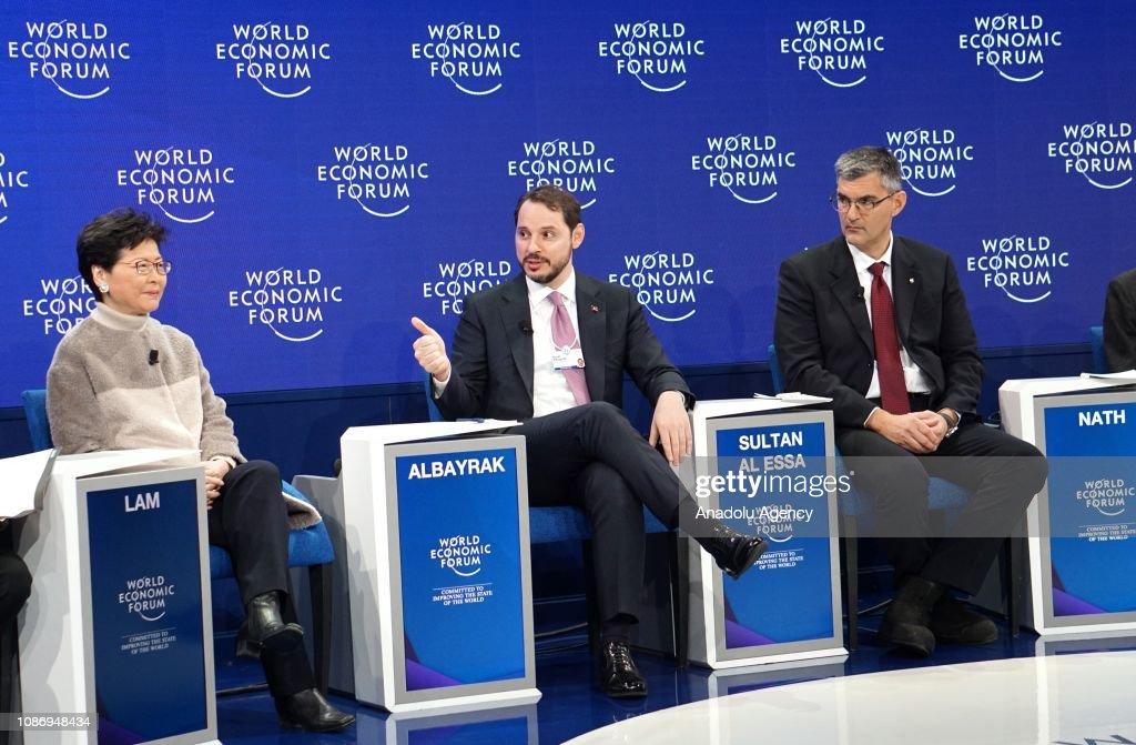 49th World Economic Forum : News Photo