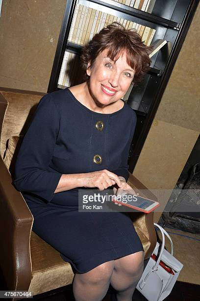 Minister Roselyne Bachelot attends the Marie Claire Magazine Litterary Awards 2015 At le Montalembert on June 2 2015 in Paris France