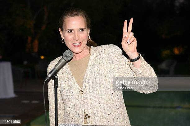 Minister Sandra Pupatello during Official Opening of the Ontario International Marketing Centre at Private Home in Los Angeles, California, United...